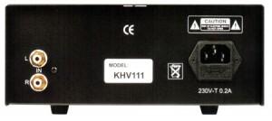 Vincent KHV-111 Rückseite