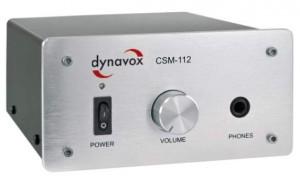 Dynavox CSM-112 Kopfhörerverstaerker silber